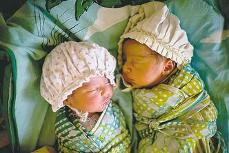 Twins are affected more by nature than nurture.