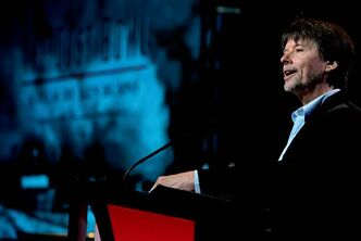 The Dust Bowl filmmaker Ken Burns.