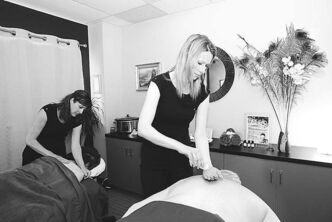 Massage therapists learn about every bone, ligament and muscle.