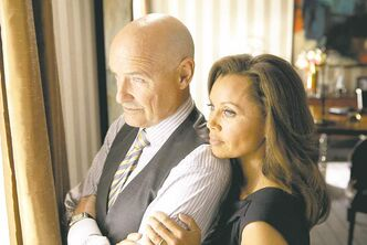 Vanessa Williams, right, and Terry O'Quinn star in the  supernatural series 666 Park Avenue.