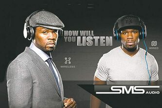 SMS Audio's Street by 50 Cent