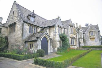 Part of Ellenborough Park, located just outside Cheltenham, originally built in the 1500s.