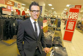 Calvin McDonald says campaign to revive Sears department stores is already having a positive effect.