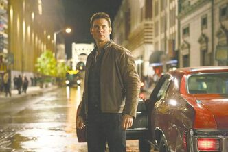 Tom Cruise plays a former military cop investigating a sniper case in Jack Reacher. Cruise is praised by people in the movie business for his work ethic and dedication to filmmaking.