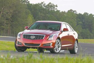 The 2013 ATS sports sedan is an all-new design from Cadillac.