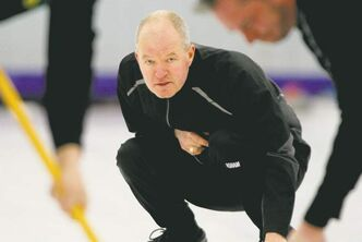 John Woods / Winnipeg Free PressMark Lukowich had no trouble with an undermanned Willie Lyburn team to win the 125th edition of the MCA Bonspiel Monday night.
