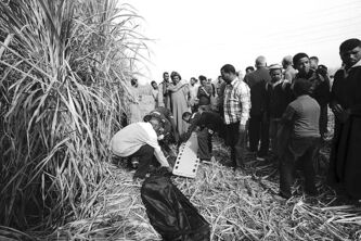 Hagag Salama / The Associated Press