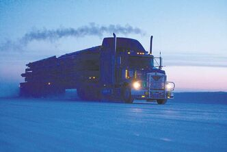 The North West Company faces many problems when trucking goods to Manitoba's north on ice roads. For years, the U of M's Barry Prentice has preached about the potential of shipping goods to the north on airships.