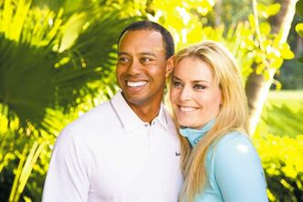 The Associated Press / Courtesy Tiger Woods, Lindsey Vonn