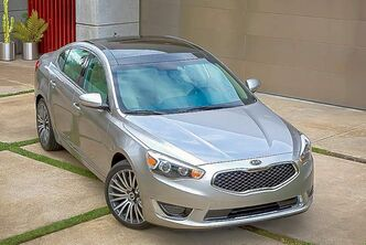 The Cadenza is Kia's first model for the full-sized luxury segment.