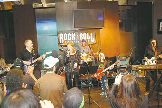 Participants young and old live out their rock 'n' roll dreams at the Rock and Roll Fantasy Camp in Las Vegas.
