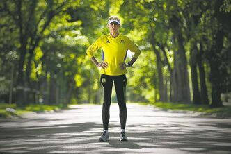 Melanie Sifton on a training run in Winnipeg: 'There was a moment of time I thought,