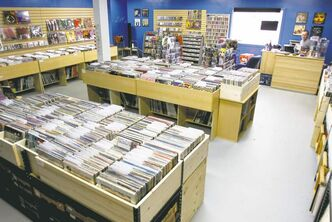 The 1,200-square-foot Winnipeg Record & Tape Co. on Wellington Avenue opened its doors in June.