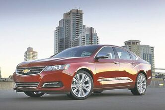 The 2014 Chevrolet Impala LTZ is a reworked version of the full-size car. It has taken Consumer Reports' top spot for all sedans, deposing German and Japanese cars for the first time in at least 20 years.