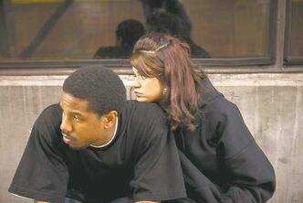 Michael B. Jordan and Melonie Diaz star in Fruitvale, the story of the 2009 shooting of Oscar Grant in Oakland, Calif.