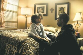 Oscar Grant is portrayed as a good father to his daughter Tatiana (Airana Neal).