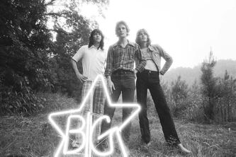 From left, Andy Hummel, Alex Chilton and Jody Stephens of Big Star.