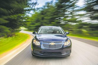 The Chevrolet Cruze had a good month in  Canada, posting a 16 per cent increase.