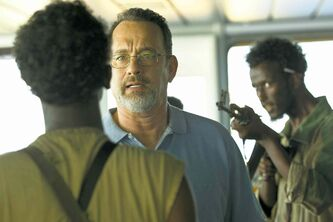Tom Hanks stars as Captain Richard Phillips