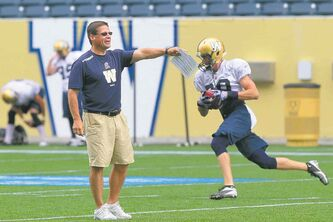 Offensive coordinator Marcel Bellefeuille gets a whole season to make a difference.