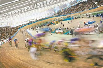 You can try track cycling at the Chris Hoy Velodrome, the venue that will host the exciting sport during the Commonwealth Games in Glasgow July 23 to Aug. 3.