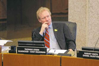 Coun. Thomas Steen took a brief leave from council after news of his arrest became public.
