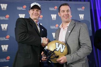 At just 43, O'Shea becomes the 30th head coach in Bombers history.