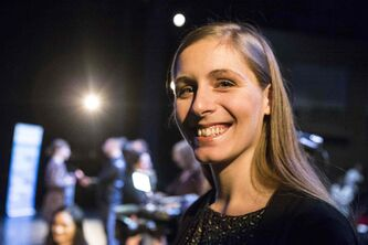"Ontario-born, New Zealand-raised author Eleanor Catton is photographed shortly after it was announced that she had won a $25,000 Governor General's Literary Award for her novel ""The Luminaries'' at a ceremony in Toronto, on Wednesday, Nov. 13, 2013. The accolade comes a month after she became the youngest author to win the Man Booker Prize."