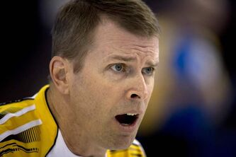 Manitoba skip Jeff Stoughton can pick the skin off a piece of granite with his eyes closed.