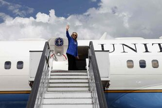 Clinton's presidential candidacy appears ready for takeoff.