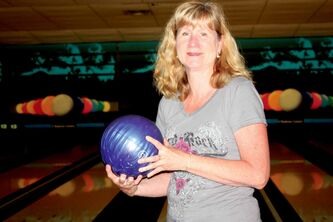 Chateau Lanes employee Sherry Hobson hopes for a good turnout at the alley's upcoming Knockdown Cancer event.