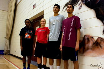 Kildonan-East Reivers girls' co-captains Martina Akot and Bailey Koop and boys' co-captains Dharmjit Dhillon and Karanjit Gill each have led their respective junior varsity sides into the provincial rankings.