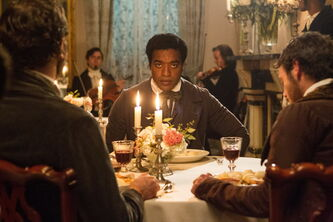 Chiwetel Ejiofor as Solomon Northup in Steve McQueen's 12 Years a Slave.