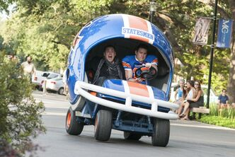 "Jonah Hill, left, and Channing Tatum star in ""22 Jump Street."""