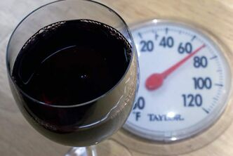 As the temperature of a wine increases, the aromas and flavours change, often dramatically.