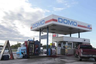 Police are investigating after a suspect was shot in an incident at the Domo gas bar on Donald Street at Wardlaw Avenue.