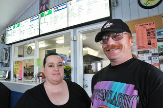 Robyn and James Kebernik own Robyn's Drive-In on Highway 12 north of Beausejour.