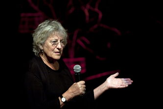 Australian writer Germaine Greer
