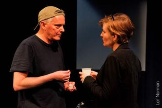 Ross McMillan and Sarah Constible in a scene from Dionysus in Stony Mountain.