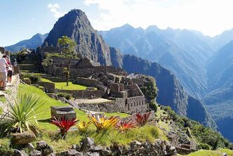 Barbara and Cam Evans climbed the famous Inca Trail to visit Machu Picchu in 2009. They will talk about their travels at a presentation on Jan. 29 at the Headingley Community Centre.