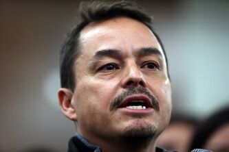 Assembly of First Nations National Chief Shawn Atleo addresses a news conference in Ottawa on Thursday.