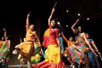 The Bhangra Syndicate dance team performs during the 34th annual Raunak Show at Jubilee Place. The cultural showcase of talent was performed at Mennonite Brethren Collegiate Institute by various cultures throughout South Asia, and put on by the University of Manitoba Indian Students Association earlier this month.