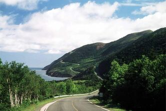 The Cabot Trail climbs and winds through a national park and 300 kilometres of some of the most spectacular coastal scenery in Canada.