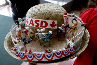 Derby Day is typically hat day, too, with cash prizes for the best ones.
