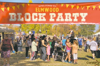 The community came out to enjoy a block party organized by Riverwood Community Church earlier this month.