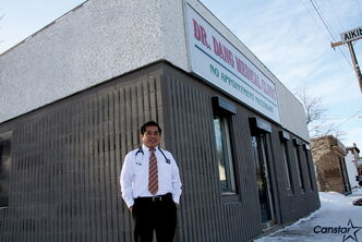 Dr. Tai Huu Dang is happy to be back on Selkirk Avenue, where he began his family practice in 1992.