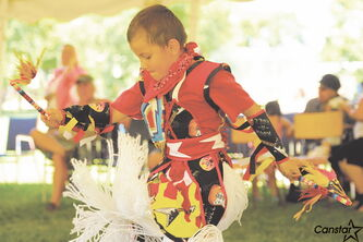 Marymound helps provide care, therapy, intervention and advocacy for young people. Its programs include cultural activities, such as this powwow last summer.
