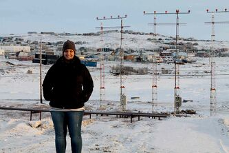 Krystalle Ramlakhan, usually a St. Vital resident, is in the middle of a three-month contract with CBC in Iqualuit, Nunavut.