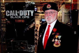 Vietnam veteran Ron Parkes questions why Call of Duty: Black Ops is being released so close to Remembrance Day.