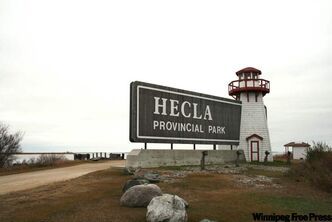 Hecla Island, connected to the mainland by a short causeway that spans a channel of Lake Winnipeg, features a variety of recreation options year-round.